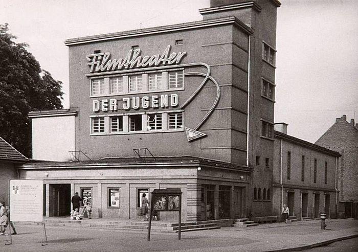 Alt Erfurt Filmtheater Der Jugend Am Ilversgehofener Platz